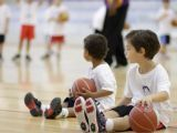 Stage de l'école de mini basket